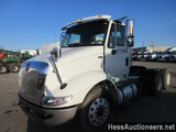 2013 INTERNATIONAL 8600 T/A DAYCAB, HESS REPORT ATTACHED, 283503 MILES ON O