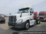 2012 FREIGHTLINER CASCADIA T/A DAYCAB, HESS REPORT ATTACHED, 573050 MILES O