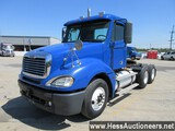 2007 FREIGHTLINER COLUMBIA T/A DAYCAB, 642228 MILES ON ODO, ECM 642228 MILE