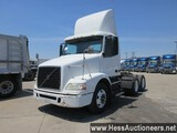 2007 VOLVO T/A DAYCAB,  HESS REPORT ATTACHED, 411846 MILES ON ODO, ECM 4118