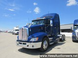 2014 KENWORTH T660 T/A SLEEPER,HESS REPORT ATTACHED,  787755 MILES ON ODO,