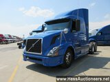 2007 VOLVO VNL64T670 T/A SLEEPER, HESS REPORT ATTACHED, 1440927 MILES ON OD