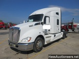 2015 KENWORTH T680 T/A SLEEPER, HESS REPORT ATTACHED, 927759 MILES ON ODO,