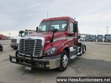 2014 FREIGHTLINER CASCADIA T/A DAYCAB, 6X2 CONFIGURATION,  HESS REPORT ATTA