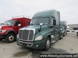 2014 FREIGHTLINER CASCADIA T/A SLEEPER,HESS REPORT ATTACHED,  692967 MILES