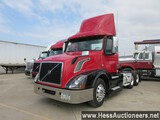 2015 VOLVO VNL62T300 T/A DAYCAB, 6X2 CONFIGURATION, 572879 MILES ON ODO, EC