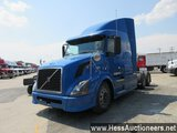 2007 VOLVO VNL64T670 T/A SLEEPER, HESS REPORT ATTACHED, 1481327 MILES ON OD