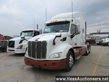2015 PETERBILT 579 T/A SLEEPER, HESS REPORT ATTACHED, 619075 MILES ON ODO,