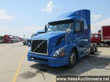 2007 VOLVO VNL64T670 T/A SLEEPER, HESS REPORT ATTACHED, 1636172 MILES ON OD
