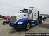 2013 KENWORTH T660 T/A SLEEPER, HESS REPORT ATTACHED, 750965 MILES ON ODO,