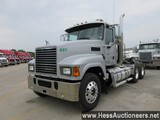 2013 MACK CHU613 T/A DAYCAB, HESS REPORT ATTACHED, 755421 MILES ON ODO, ECM