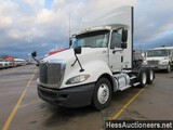 2012 INTERNATIONAL PROSTAR T/A DAYCAB,HESS REPORT ATTACHED, 373460 MILES ON