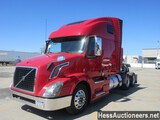 2016 VOLVO VNL62T670 T/A SLEEPER,  6X2 CONFIGURATION, HESS REPORT ATTACHED,