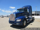 2014 KENWORTH T660 T/A SLEEPER, HESS REPORT ATTACHED,  909357 MILES ON ODO,