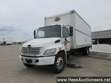 2008 HINO CONVENTIONAL BOX TRUCK, TITLE DELAY, 306102 MILES ON ODO, 33000 G