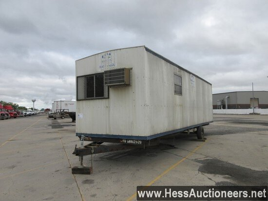 32' OFFICE TRAILER, NO TITLE, 8' X 15' OFFICE SPACE, 8' X 13' STORAGE SPACE, OFFICE AREA H