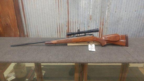 Nikko Golden Eagle Model 7000 7mm Rem Mag bolt action rifle with scope serial number N007414