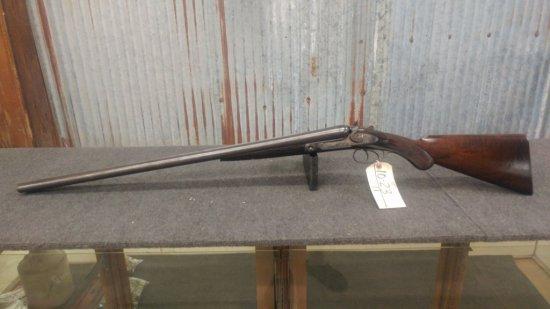 Parker Bros. 12ga Double Barrel shot gun patented 1876 serial number NA