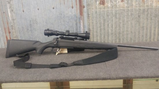 Remington model 770 .243 Bolt Action Rifle with Bushnell Scope like new condition