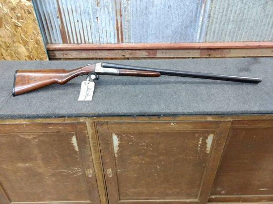 LeFever Nitro Special Double Barrel Shotgun Locks Up Tight