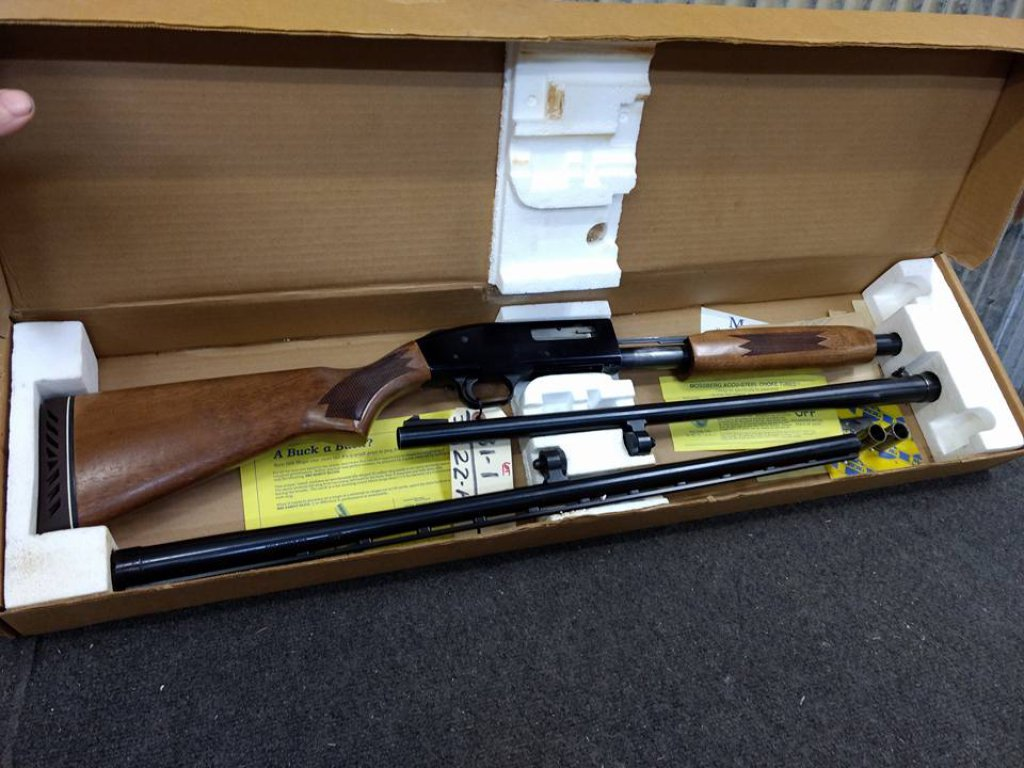 Mossberg Model 500A 12ga Pump With Vent Rib