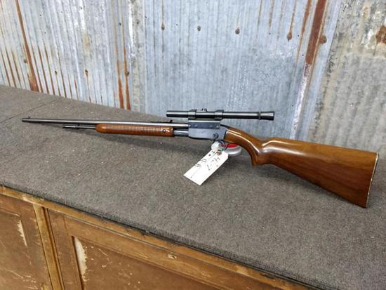 Remington Fieldmaster 121 .22 Pump With Scope Mfg 1951