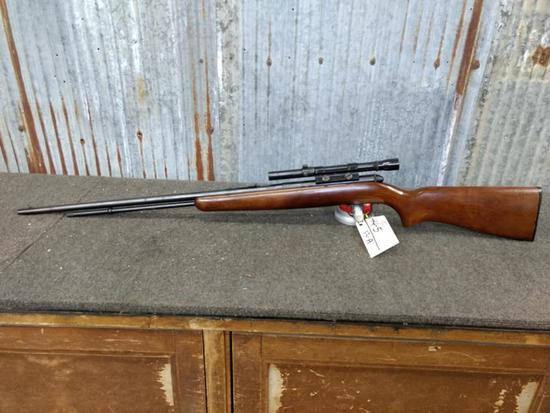 Remington Model 550-1 .22 Semi Auto With Scope SN NA