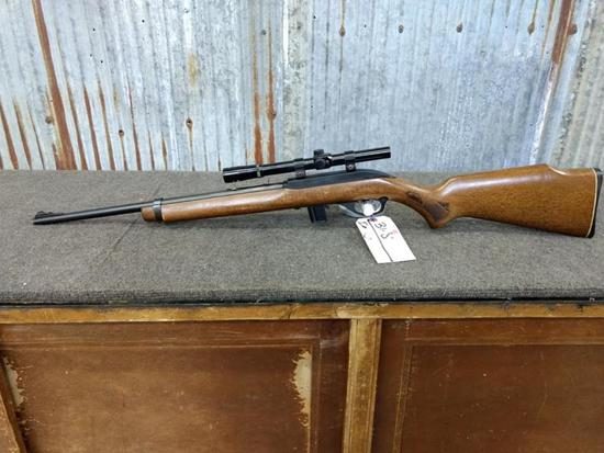 Glenfield Model 70 .22 Semi Auto Rifle With Scope Serial # 22423138