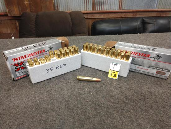 32 Rounds of .35 Rem Ammo