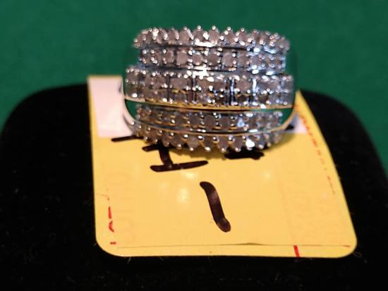 1ct Diamond Dinner Ring