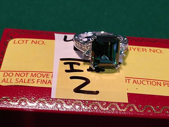 4.02ct Emerald Estate Ring