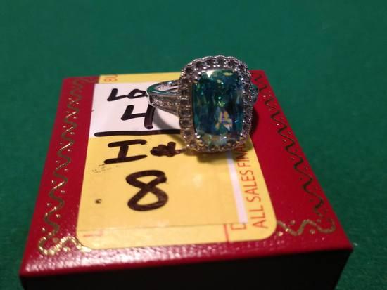 3.88ct Alaskan Sapphire Dinner Ring