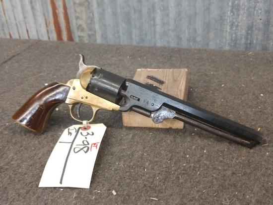 Big Navy Italian Black Powder Revolver 30cal Family