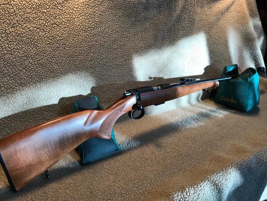 C Z Arms .22 Bolt Action Target Rifle