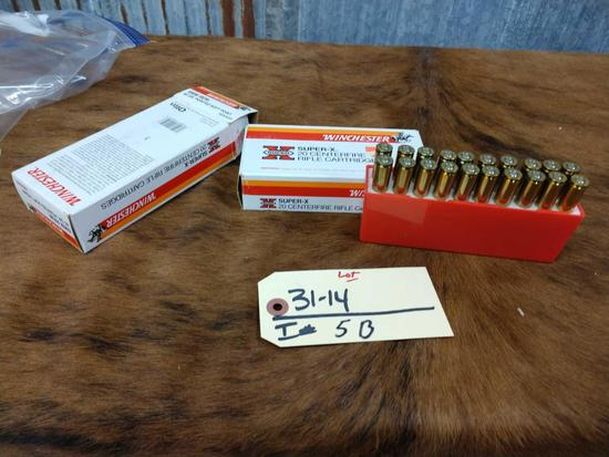 Two full boxes 6 mm Rem ammo