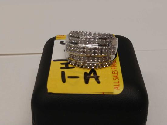 1ct Diamond Dinner Ring
