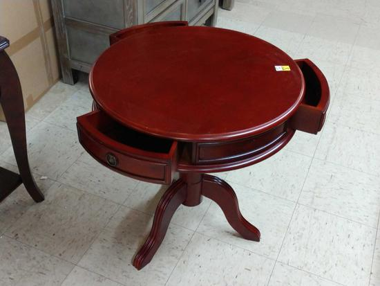 """Inter Master 24"""" Round Accent Table"""