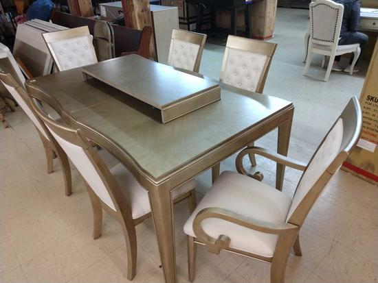 Monroe Style Dining Room Table & 6 Chairs