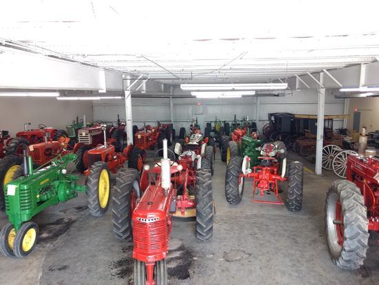 Antique Tractors & Horse Drawn Equipment