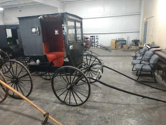 Amish Mail Buggy