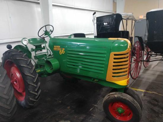 1954 Oliver 66 Row Crop Tractor