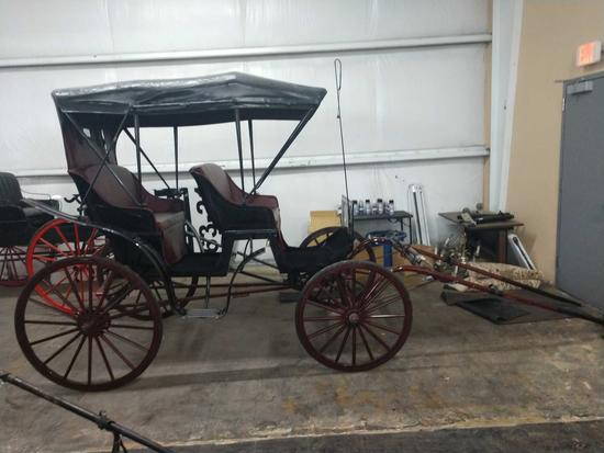Brand New Horse Drawn Family Carriage 2 Seat