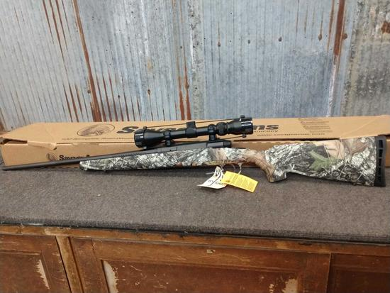 Savage Axis 25-06 bolt action rifle with scope new in the box
