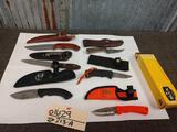 6 Fixed Blade Knives