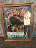 Vintage Maas & Steffen Fur Dealer Advertising