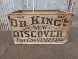 Antique Medicine Wood Box