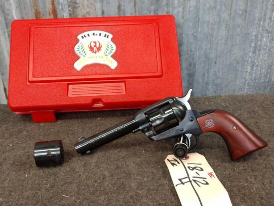 Ruger Single Six .22 / .22 Mag Revolver 50 Year Commemorative Edition