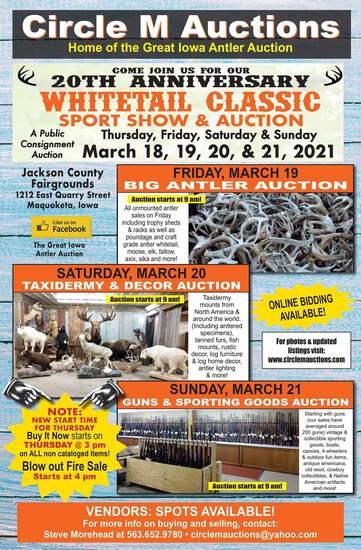 Whitetail Classic Guns & Sporting Good Auction