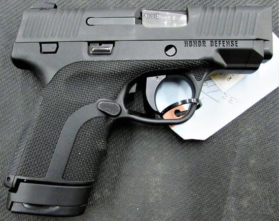 Honor Guard Honor Defense 9mm Semi Auto Pistol