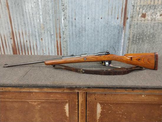 Sauer Model 98 Mauser 8mm Bolt Action German Military Rifle